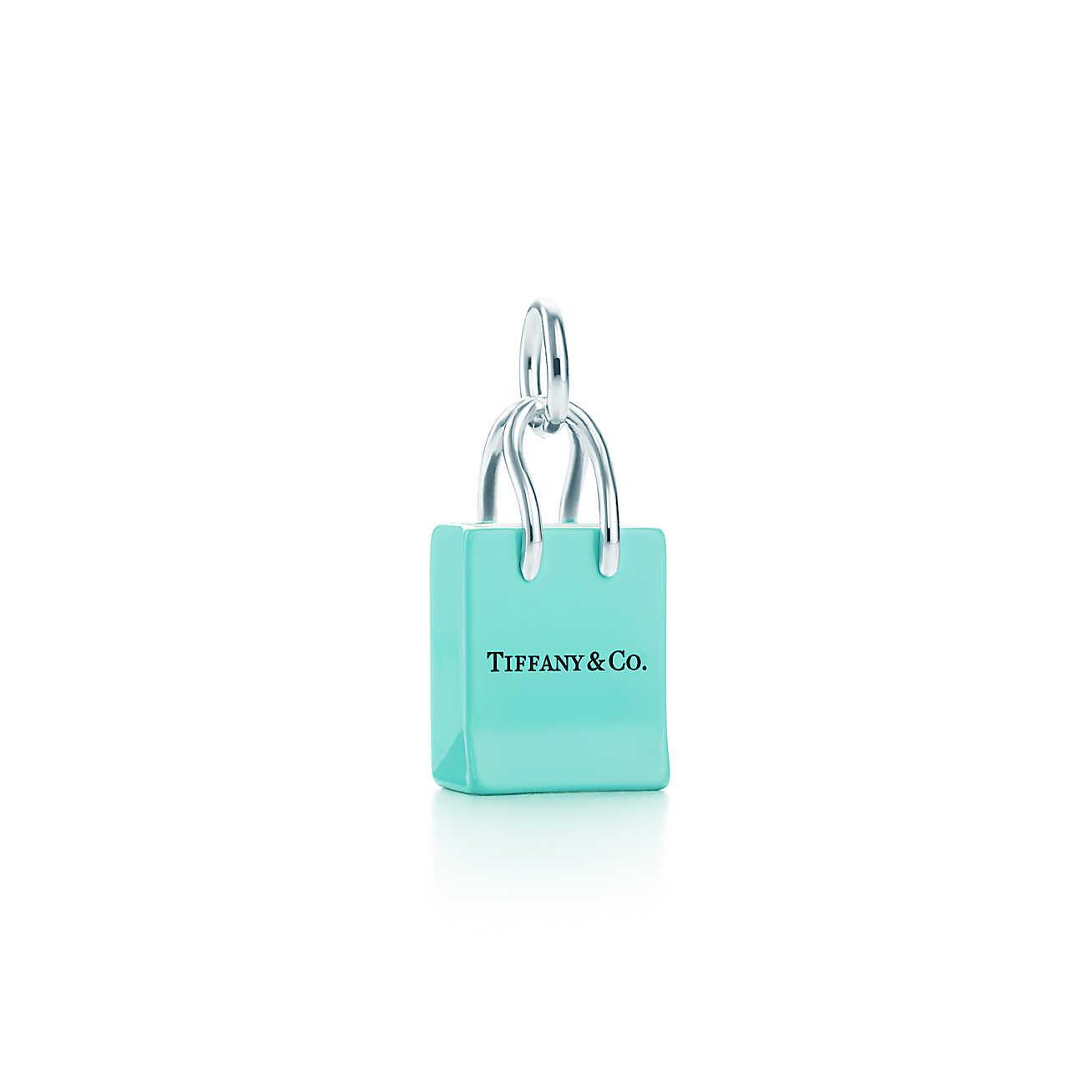Tiffany & Co.® Shopping Bag Charm.