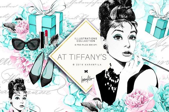 Breakfast at Tiffany\'s Clipart.