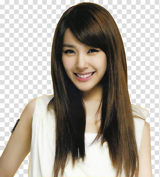 TIFFANY SNSD transparent background PNG clipart.