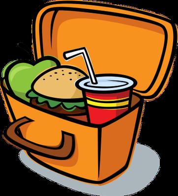 Lunch Box Clip Art.