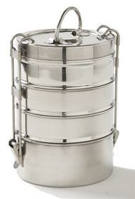 Tiffin Box From Tuna Cans.