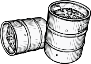 Keg Clip Art at Clker.com.