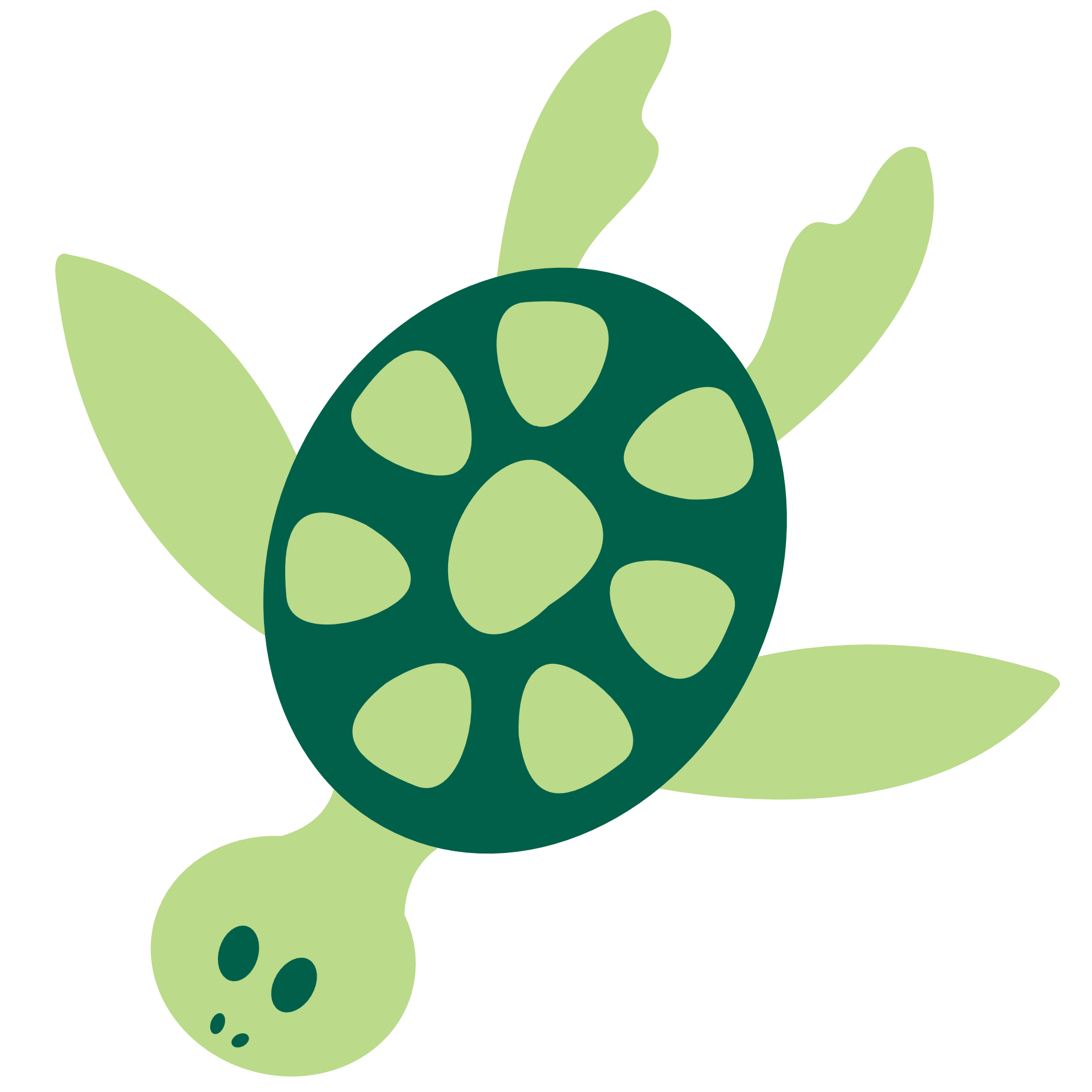 clipartist.net » Clip Art » Colorful Animal Sea Turtle Vfx.