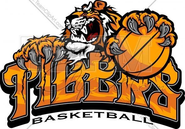 Image result for tiger basketball logo.