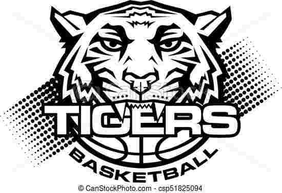 Best Cliparts: Tiger Playing Sports Clipart Black Best.