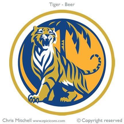 Tiger Beer.