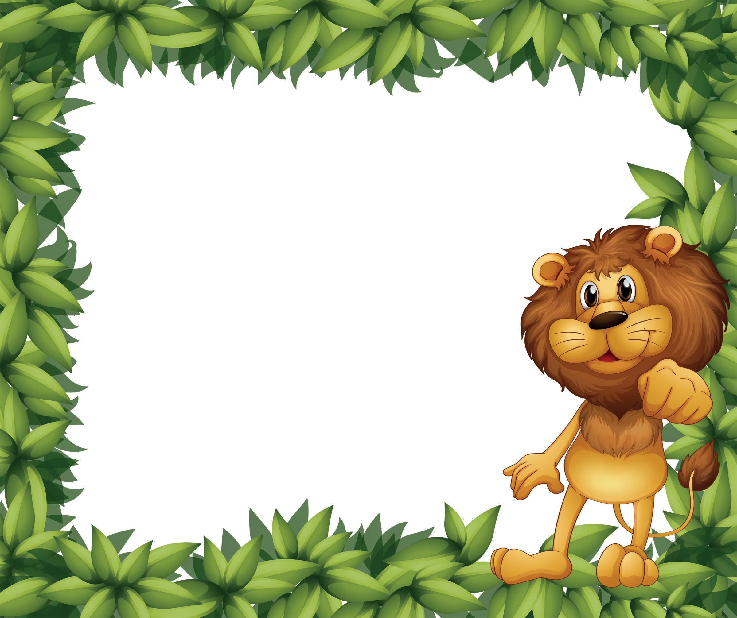 Jungle Clip Border.