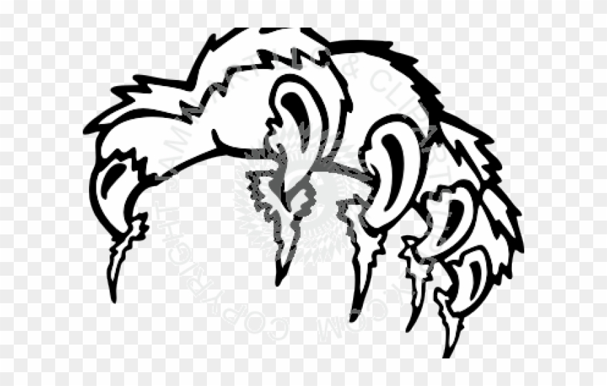 Tiiger Clipart Tiger Claw.