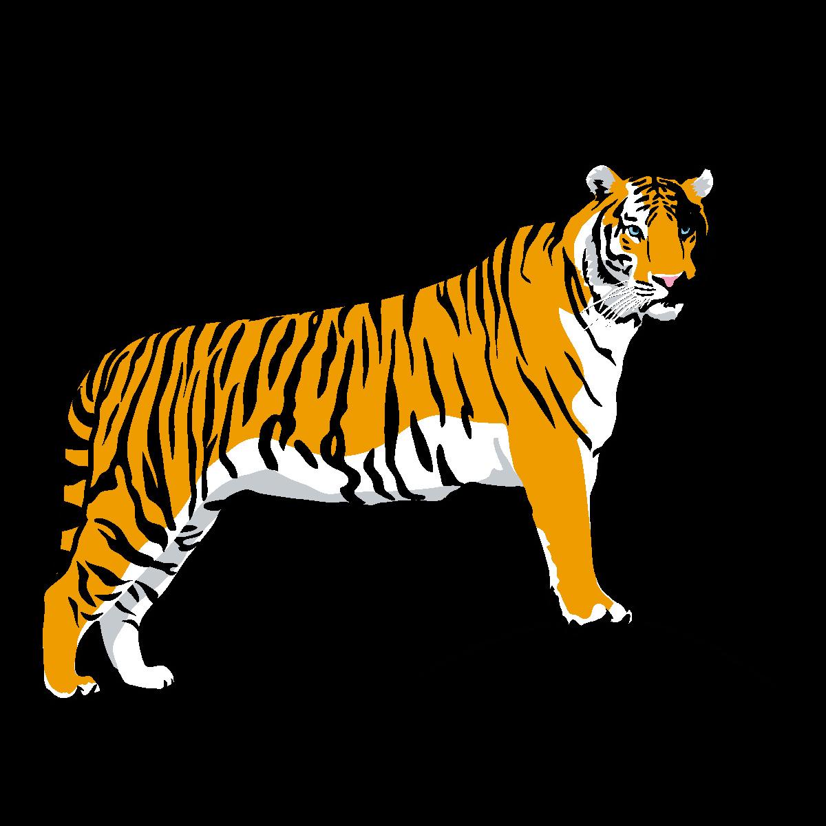 Tiger Clip Art Free Clipart Images Transparent Png.