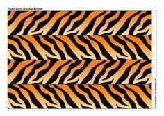 Mascot Clipart Image of A Tigers Logo http://www.rivalart.com/cart.