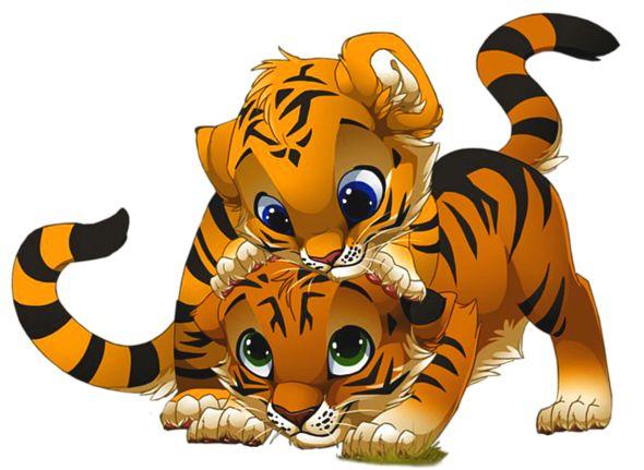 Cute Tiger Clipart.