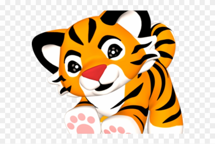 Baby Tiger Clipart Free, HD Png Download (#2477487).