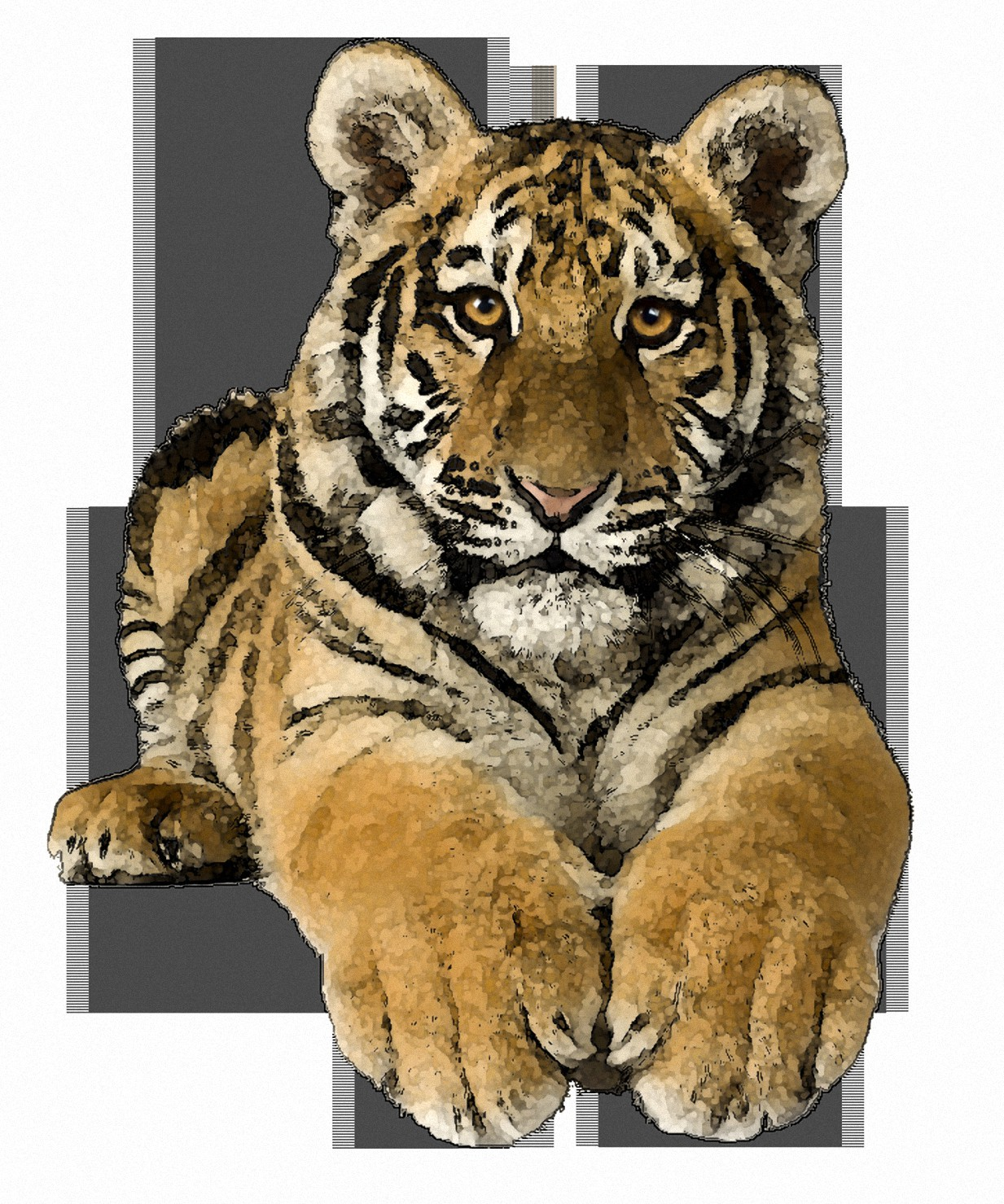 Tiger Clipart Photo Free Download Picture 109.