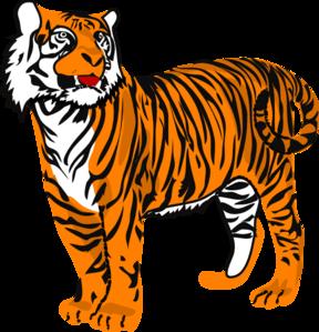Tiger Clip Art For Kids.