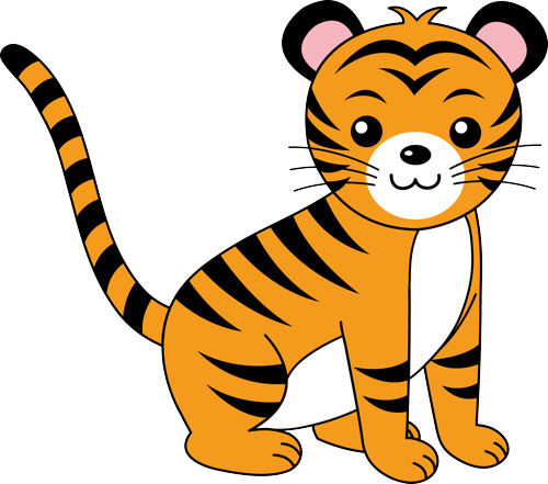 Free Cute Tiger Clipart, Download Free Clip Art, Free Clip.