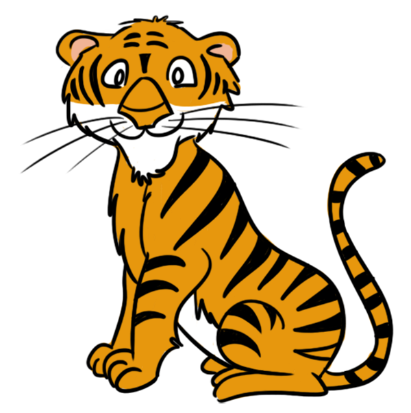 Tiger clipart free download images.