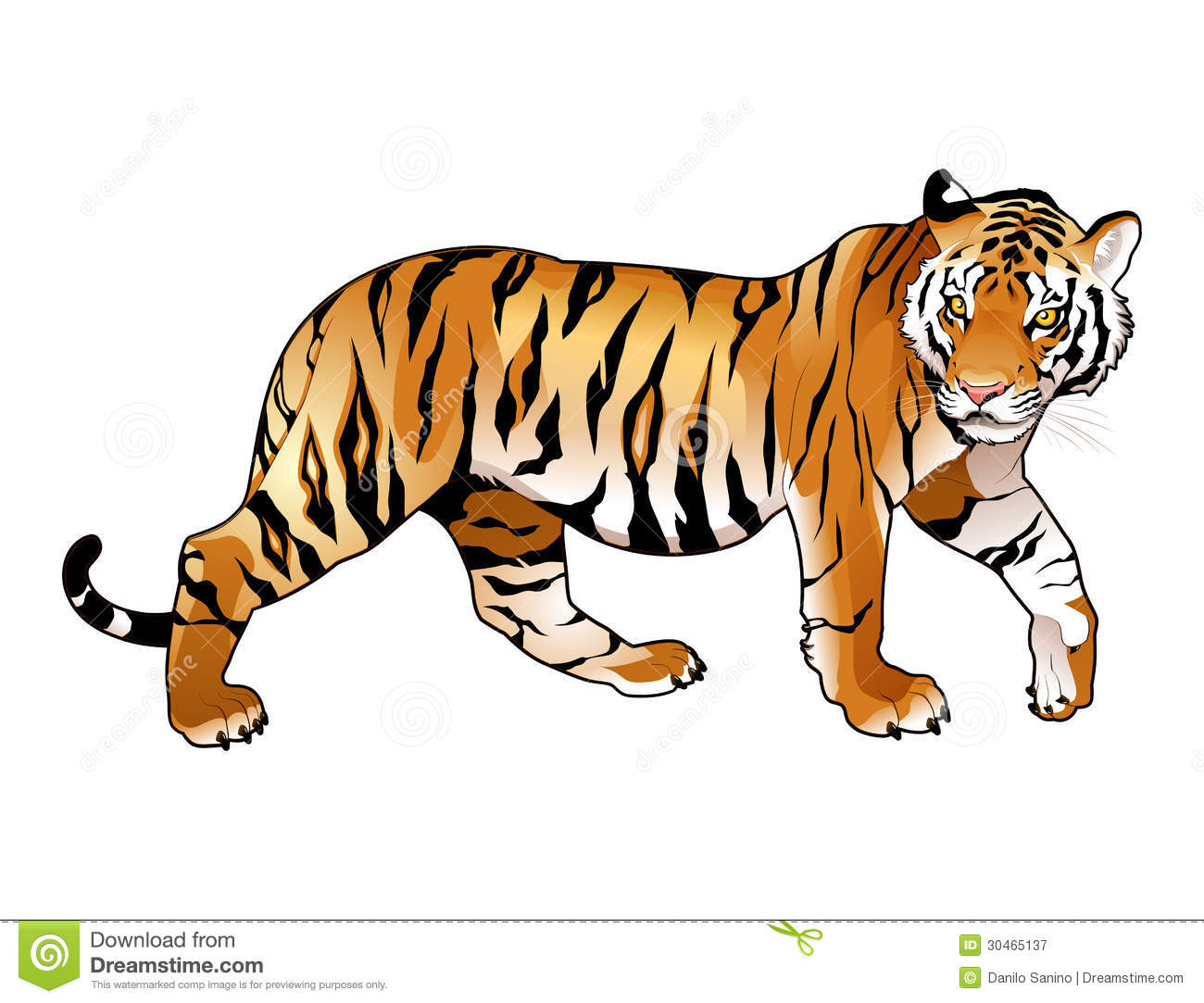 Tiger Clipart Free Download.