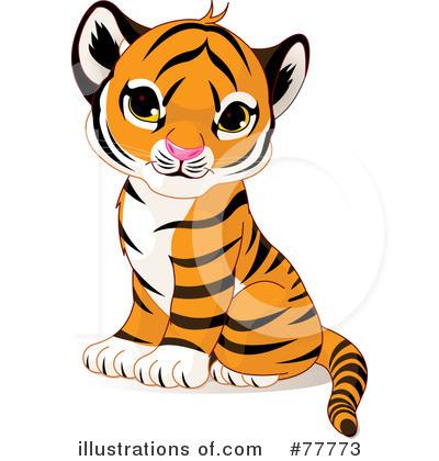Tiger Clipart #77773.
