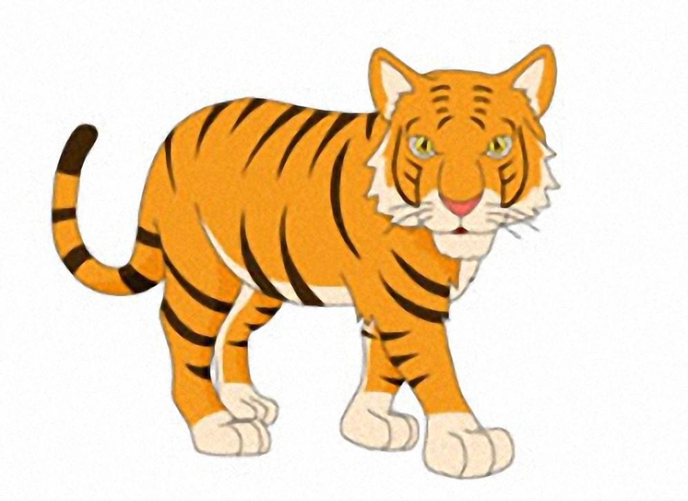 Tiger Clipart Photo Free Download Picture 047.