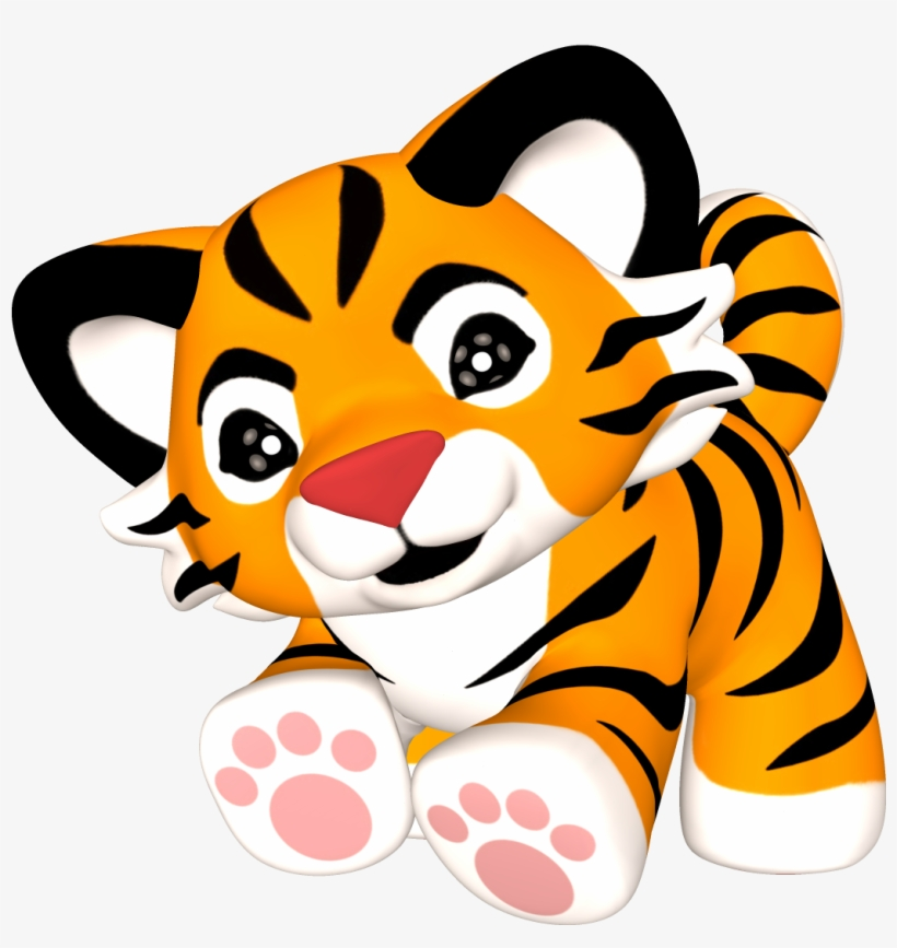 Best Baby Tiger Clipart.