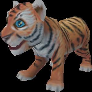 Tiger cub.