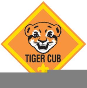 Tiger Cub Scouts Clipart.