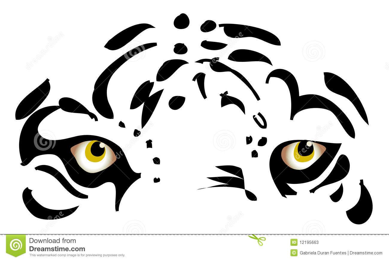 Tiger Eyes Clipart.