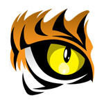Tiger Eyes Clipart.