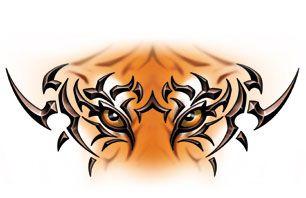 Auburn Tiger Eyes Clipart.