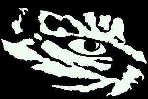 LSU Tiger Eye Clip Art.