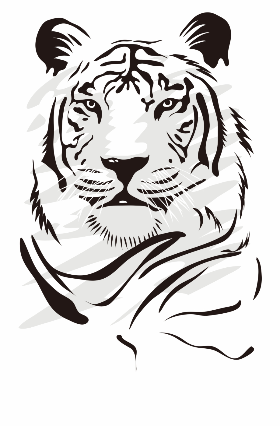 Tiger Euclidean Domineering Vector Png File Hd.