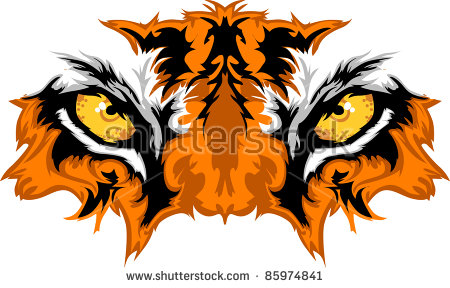 Tiger Mascot Stock Images, Royalty.
