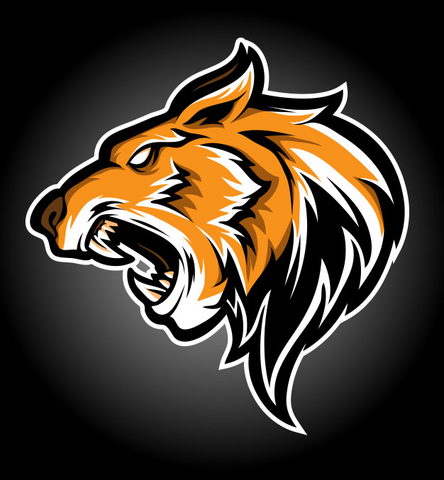Tiger head logo Vector.
