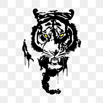 Tiger Head PNG Images.