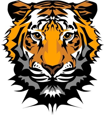 Tiger head free vector download (1,907 Free vector) for.