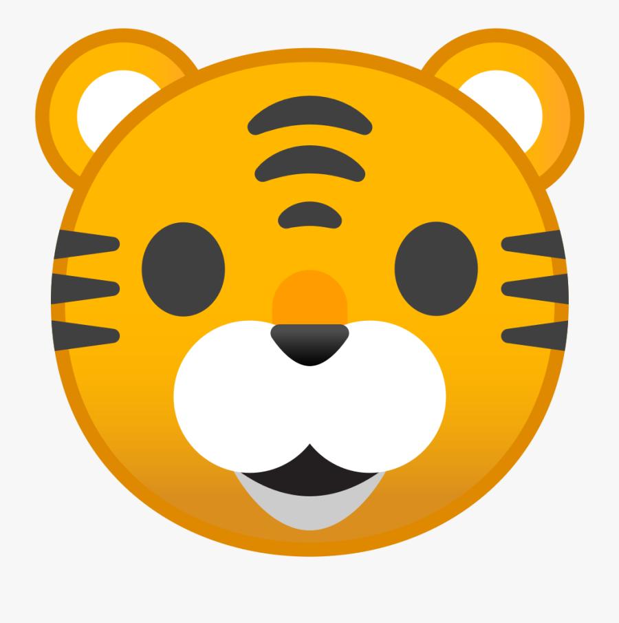 Tiger Face Icon.