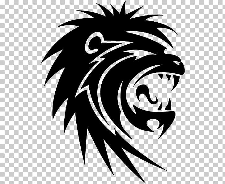 Sticker Lion Paper Decal Tiger, lion PNG clipart.