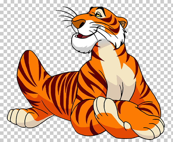 Shere Khan The Jungle Book Bagheera Tiger Cartoon, the.