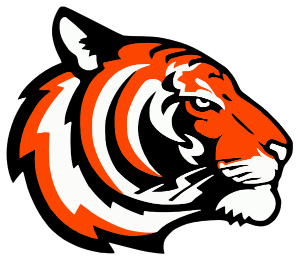 Tigers Logo Orange Clip Art at Clker.com.