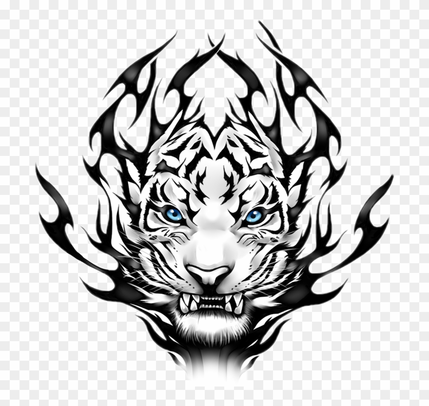 White Tiger Png Hd Clipart (#1940973).