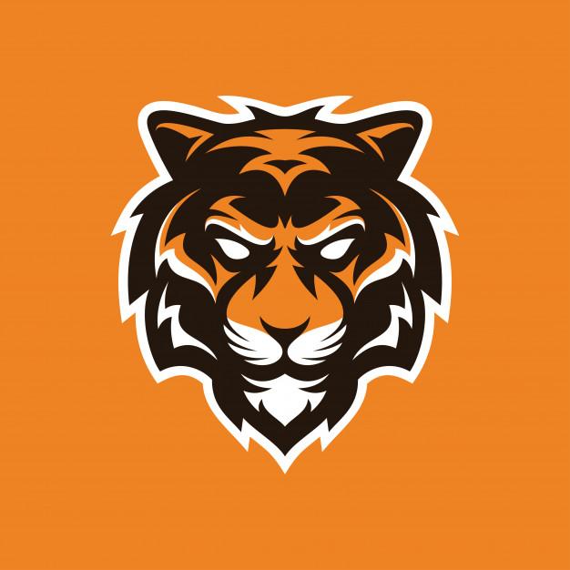 Tiger mascot logo Vector.
