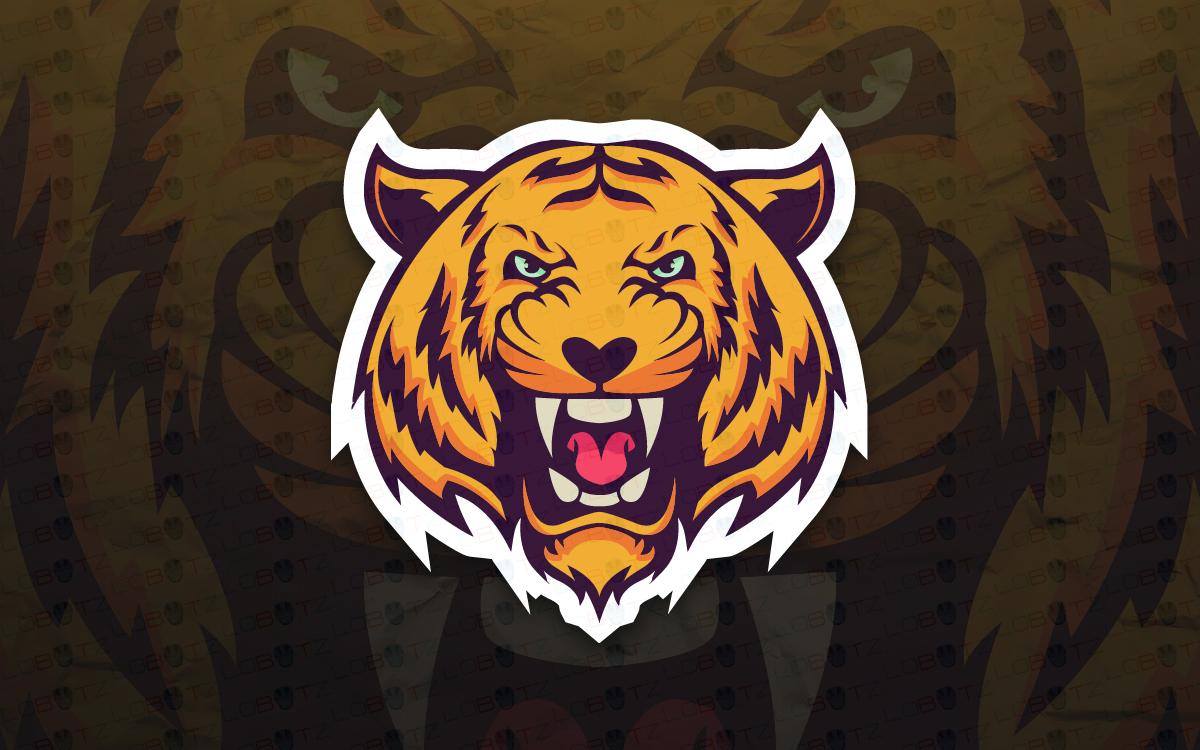 Tiger Mascot Logo.
