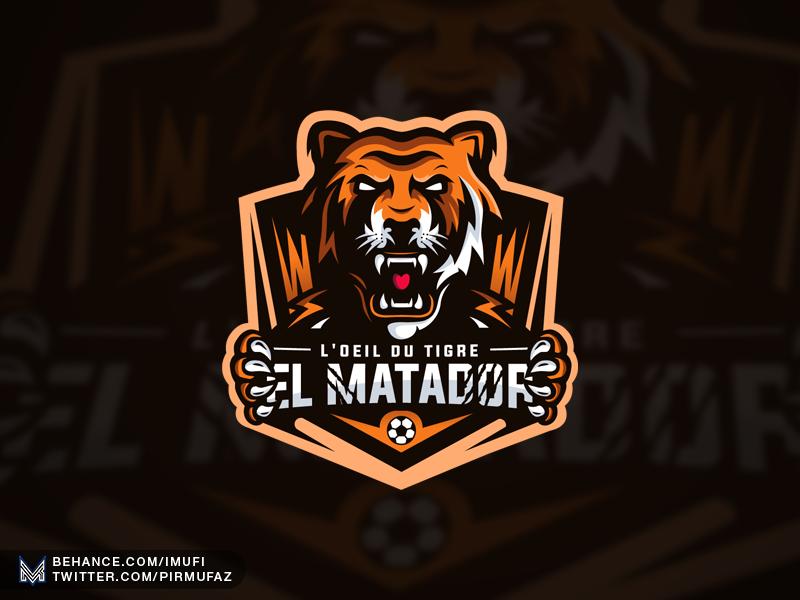 Tiger Mascot Logo by iMufi on Dribbble.