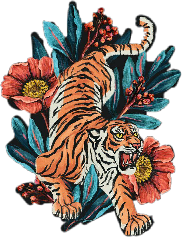 tiger fierce aesthetic rock indie.