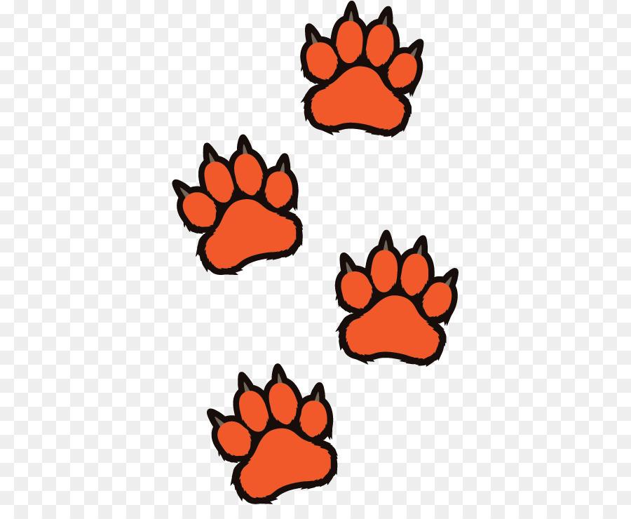 Tiger Paw png download.