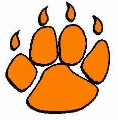 Clip art tiger paw.