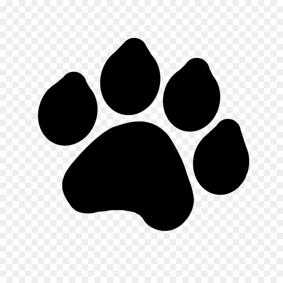 Tiger Paw Png Black And White & Free Tiger Paw Black And.