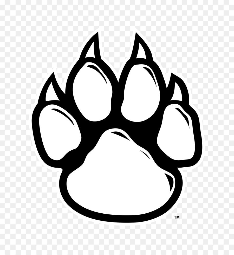 Download Free png Wildcat Tiger Paw Clip art Black Wildcat.