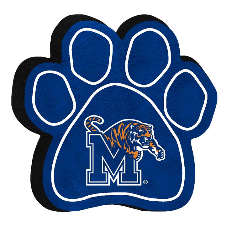 Memphis Tigers Dog Paw Toy.