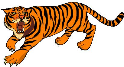 Tiger clipart tigerclipart animals clip art.